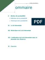 La Loi Binomiale