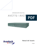 AVTech Manual Espanol AVC773 772ESP V11.14