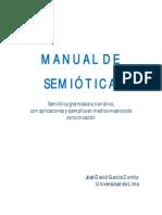 Manual de semiótica. Semiótica narrativa, con aplicaciones de análisis en comunicaciones