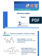 Cap 12 - Eletrônica Digital - Parte I - 2 aulas