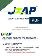UZAP 2.0 Social Marketplace