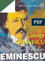 George Calinescu - Viata Lui Mihai Eminescu (Cartea)