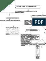 Consejos y Pautas Para La Seguridad i. Mapa Conceptual