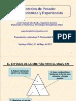 Centrales de Paso - Caracteristicas y Experiencias - J. Gho 310511 Vers. 1.0