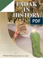 Muhammad Baqir as-Sadr - Fadak in the History
