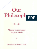 Muhammad Baqir as-Sadr - Our Philosophy