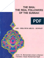 Mohammad Tijani Smaoui - The Shia's Are the Real Ahl e Sunnah