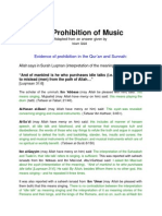 The Prohibition of Music