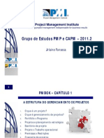 PMP PMI-PE Capítulos 1 2 3