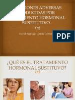 Reacciones Adversas as Por Tratamiento Hormonal Sustitutivo