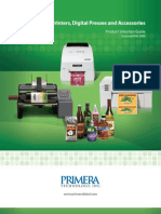 Primera Label Series Brochure 2009