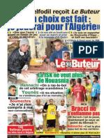 LE BUTEUR PDF du 21/11/2011
