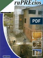 CONSTRUPRECIOS (Informe de los precios de construcción)