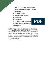 Buat Paper TPHP Yang Pengecilan Ukuran Yang Tugasnya 3 Orang