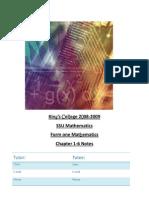 F1 1st Term Maths Teaching Materials (1st Edition)