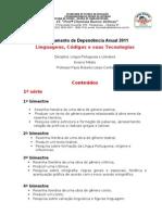 to Lingua Portuguesa de Depend en CIA Anual