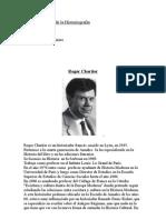 historigrafia Chartier