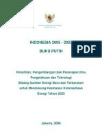 buku putih energi