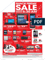 Black Friday Ad 2011 Radio Shack 89