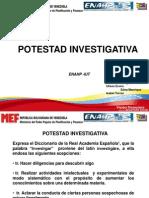 Potestad Investigativa Laminas de Expo Sic Ion