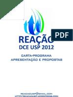 Reação - DCE USP 2012