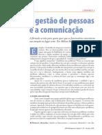 A Gestão de Pessoas e a Comunicação