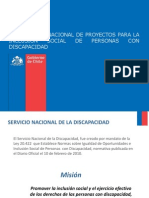Difusión Proyectos Área Educación 20121