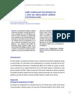 El proceso de diseño curricular con enfoque de competencias. El caso del bachillerato general de la Universidad de Guadalajara