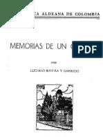 Memorias de Un Colegial Luciano Rivera y Garrido