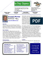 FALL 2011 PTSA Pony Express Newsletter