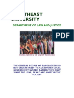 Effectiveness of Local Government in Bangladesh