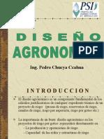 Diseño Agronómico Criterios de Disñeo - Ing