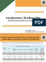Los Jóvenes y la Educación ENCUESTA NACIONAL DE LA JUVENTUD