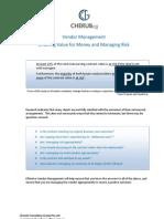 Vendor Management Role