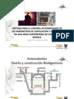 Automatizacion Ventilacion Minas de Carbon