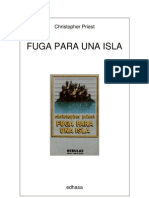 Fuga para una isla, de Christopher Priest