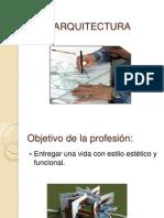 CARRERA DE ARQUITECTURA
