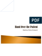 Hand Over the Patient