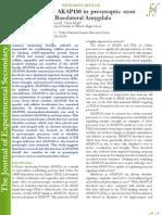 Identification of AKAP150 in presynaptic axon terminals of the Basolateral Amygdala (www.jes2s.com