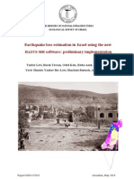 Earthquake Loss Estimation in Israel using the new HAZUS-MH software