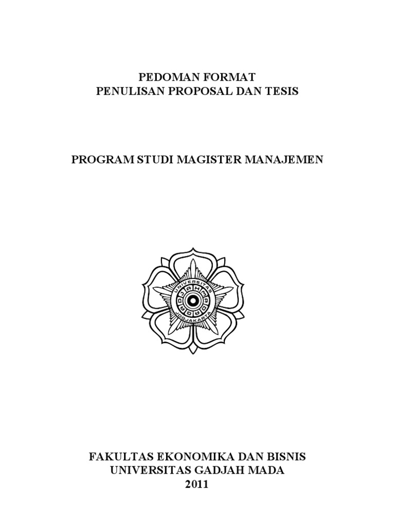 Format Thesis Mm Ugm
