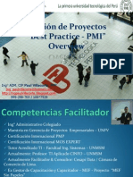PPT Overview Gestion Proyectos - PMI