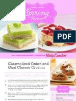 Betty Crocker-Member Exclusive Spring Recipes