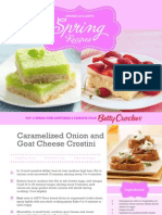 Betty Crocker-Member Exclusive Spring Recipes