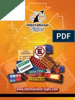CATALOGO International Signs