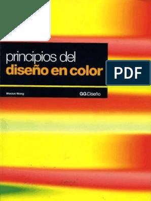 Wucius Wong Principios Del Diseño En Color