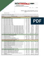 Estructura Costos Presupuesto