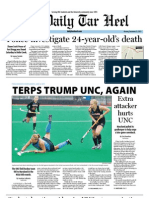 The Daily Tar Heel for November 21, 2011
