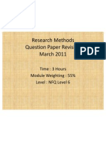 Research Methods Qst Anws