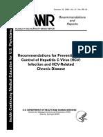 CDC HVC Prevention
